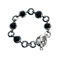 Round links with lava stone